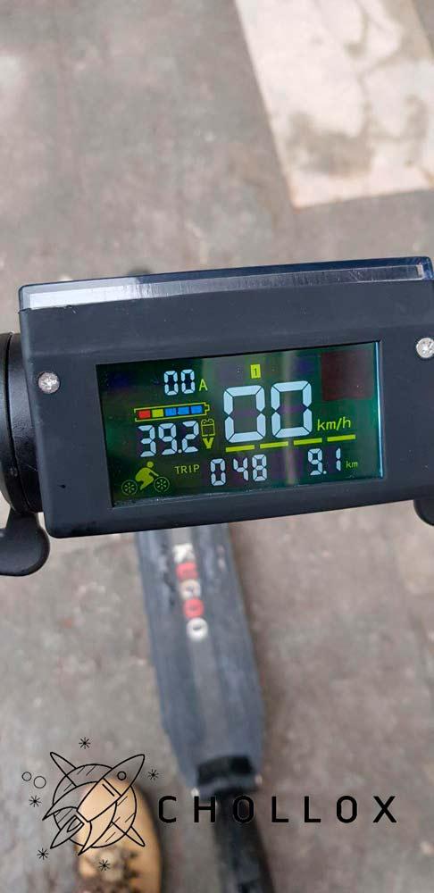 pantalla del patinete Kugoo S1