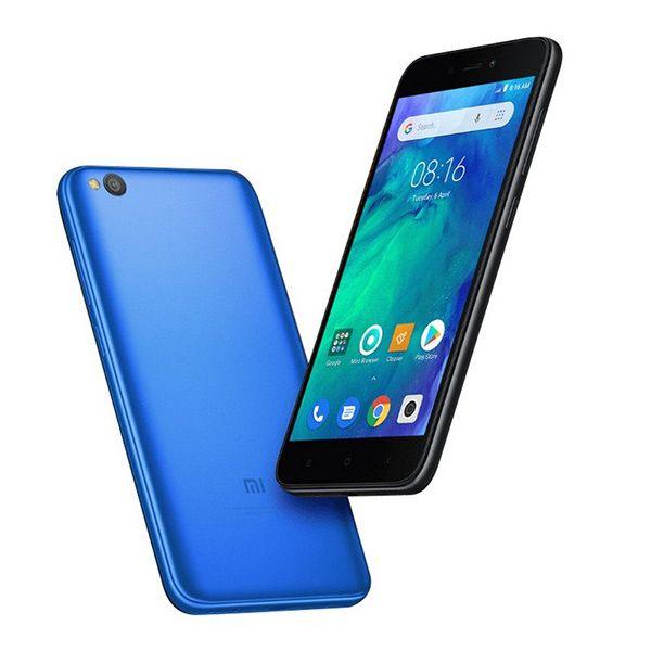 Xiaomi Redmi Go partes trasera y frontal