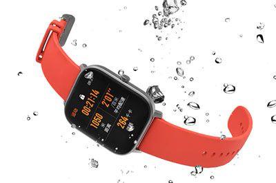 El smartwatch Amazfit GTS es resistente a 5 atmósferas de presión