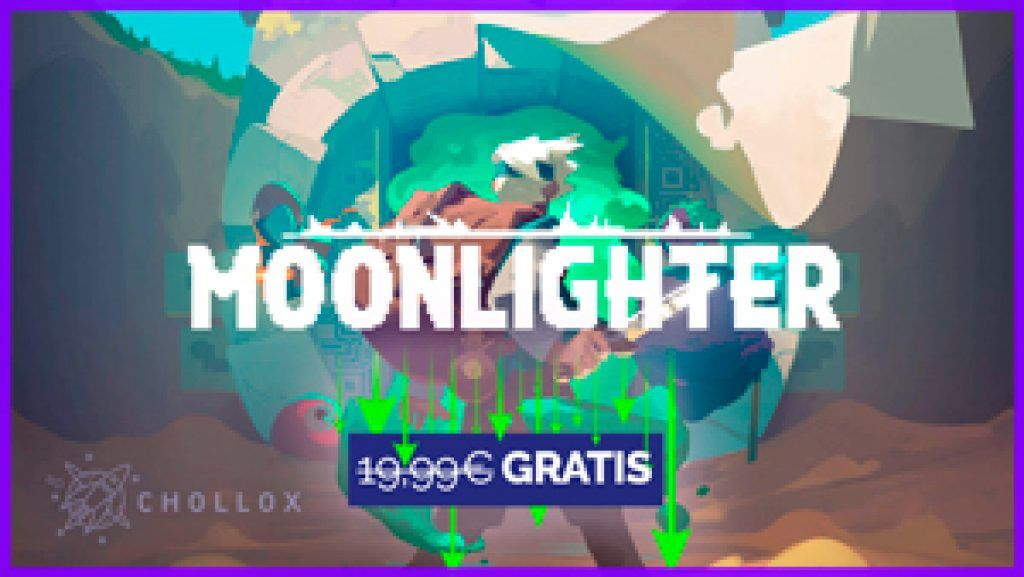 Videojuego Moonlighter gratis en epic