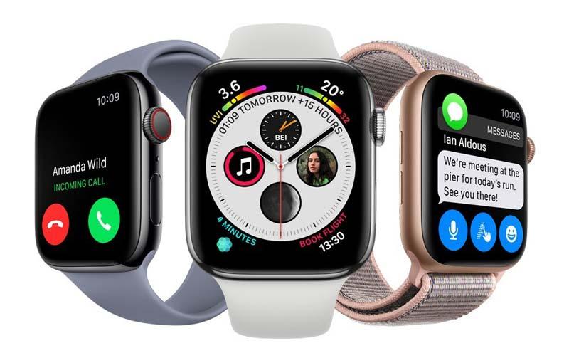 3 modelos del smartwatch Apple Series 4