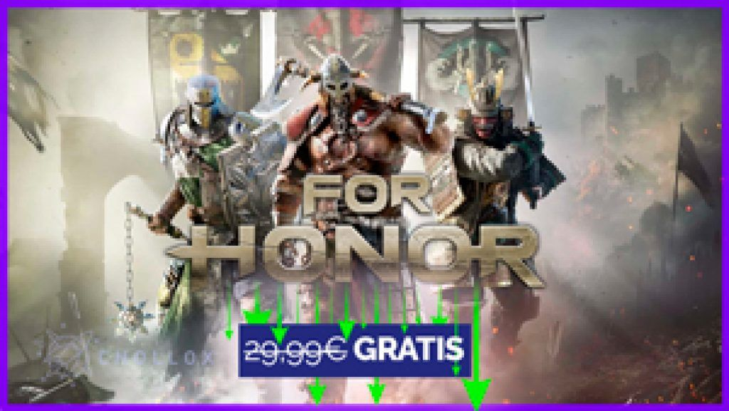 For Honor gratis en CHOLLOX