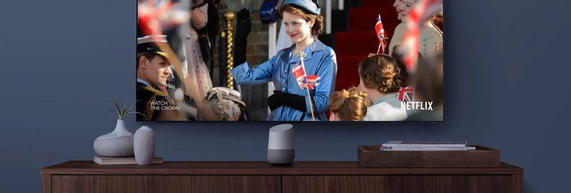 Google Home en el salón