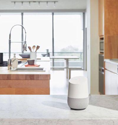 Google Home en la cocina