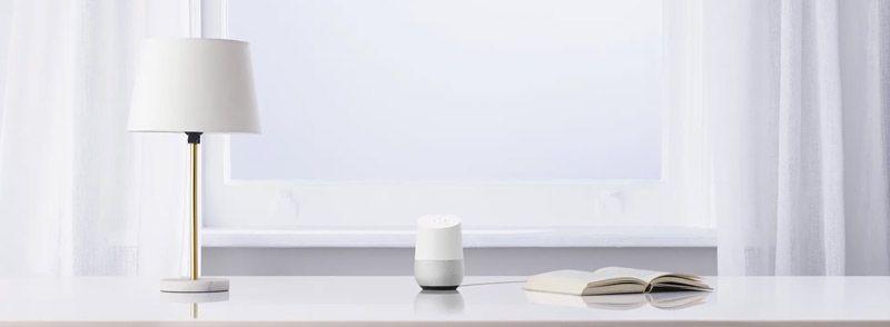 Google Home en una habitación