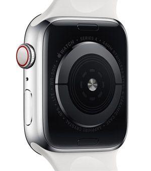Parte trasera del Apple Watch Series 4