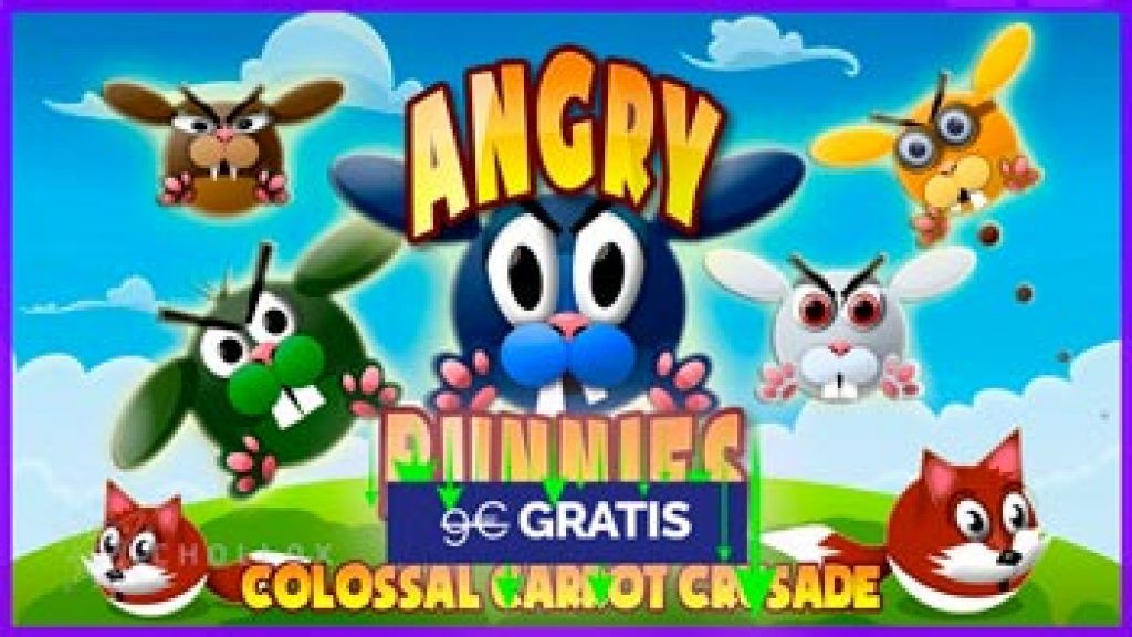 Angry Bunnies: Colossal Carrot Crusade disponible gratis en Nintendo store
