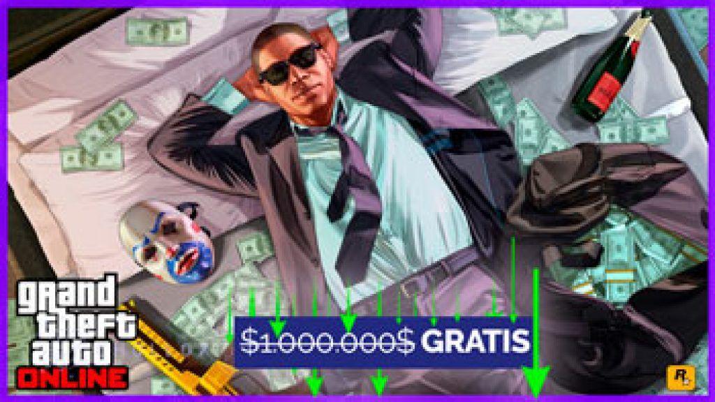 1.000.000$ de Dinero gratis en el GTA V