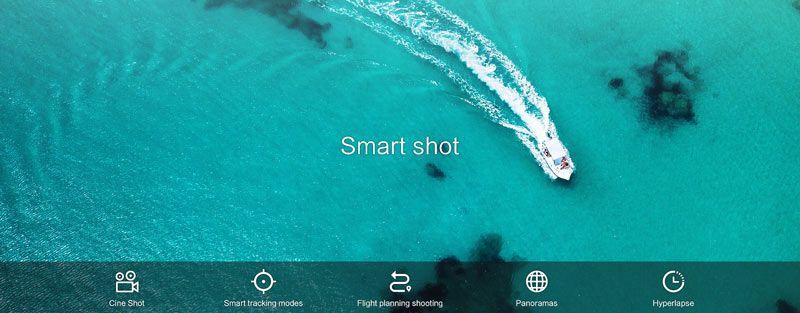 Tipos de disparo con cámara del dron económico Xiaomi FIMI X8 SE