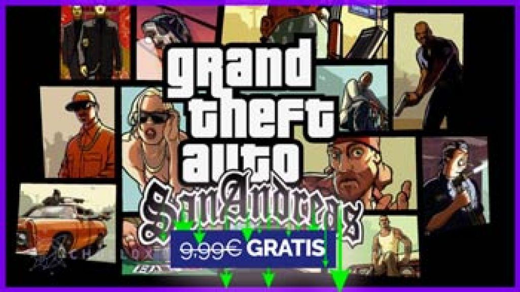 Grand theft auto San Andreas gratis