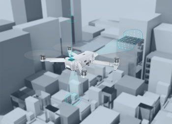Sensores anti golpes del drone Xiaomi FIMI X8 SE